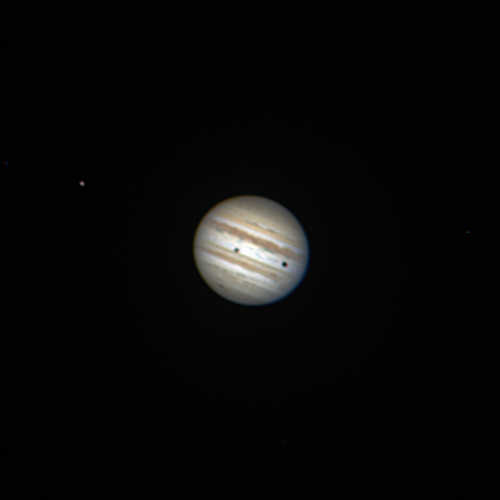 moons and jupiter in telescope - photo #33