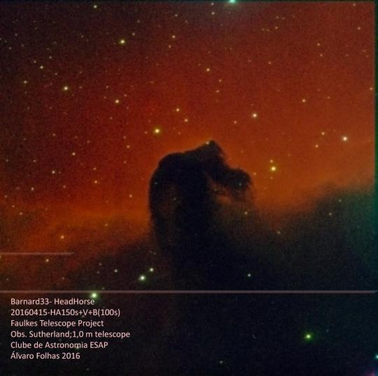 The Horsehead Nebula - Barnard 33
