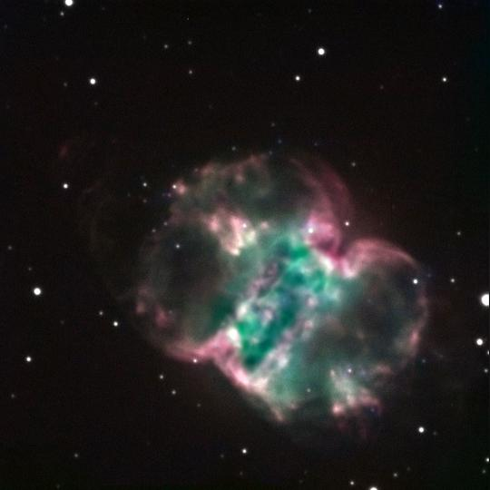 M76: The Little Dumbbell Nebula